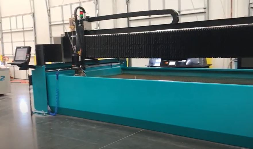 waterjet glass cutting technology